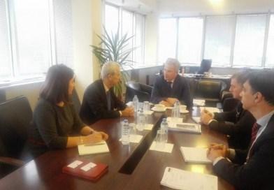 Директорот Танаскоски на состанок со амбасадорот на Холандија во Македонија