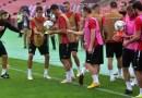 Одржан официјалниот тренинг пред натпреварот со Ерменија