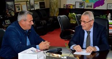 Градоначалникот Ногачески оствари средба со градоначалникот на Елбасан