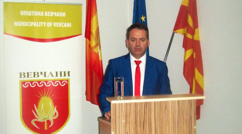 Градоначалникот на општина Вевчани, Сашо Јанкоски со отчет за сработеното