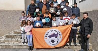 """Донирани топки во ОУ """"Дебрца"""""""