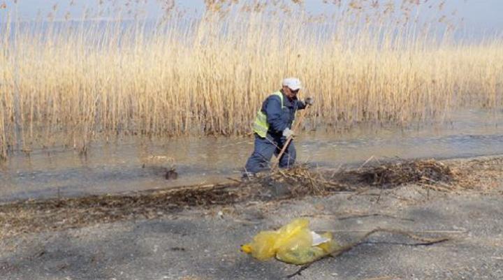 Акција за чистење на потегот Хидробиолошки завод – Св.Наум