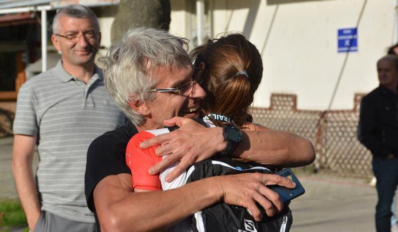 """Јуре Облак и неговата ќерка Јања од Словенија се победници на првото издание на """"Ohrid Trail"""""""