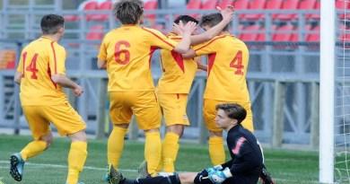 Селекцијата до 21 година победи со 3:1 против селекцијата до 19 години на првиот дуел од тренинг кампот во Охрид
