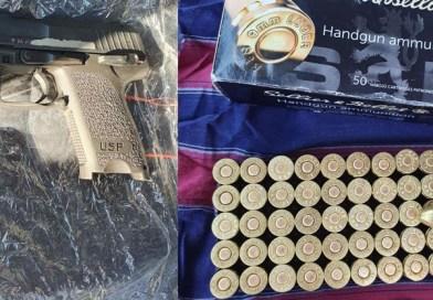 Приведено едно лице во Струга, запленети пиштол и муниција