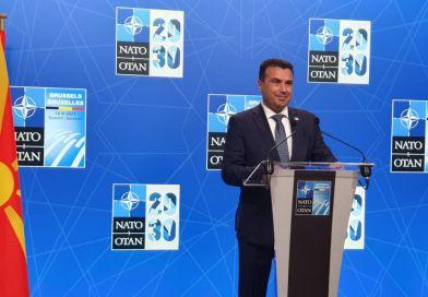 Заев со оценка за НАТО Самитот 2021: Трансатлантското семејство е силно како никогаш порано, а нашето членство ја подобри безбедноста и стабилноста на Западен Балкан