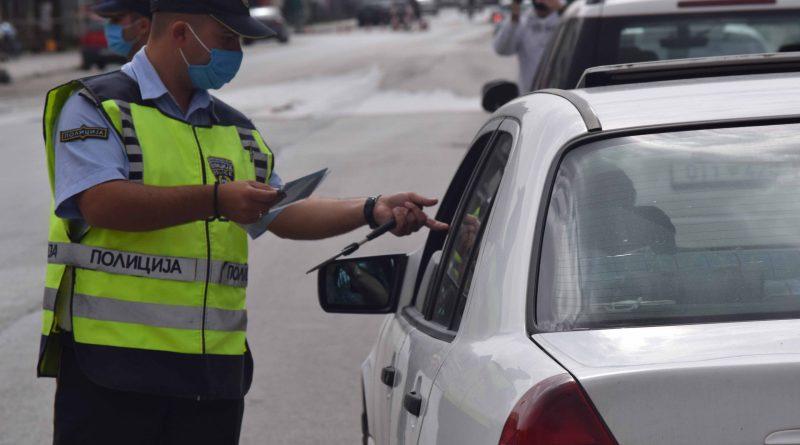 """45 санкции за непрописно вградени """"фолии"""" и светлосни и звучни уреди во возила на територијата на целата држава"""