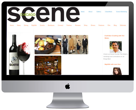 Dining Guide (Sample) Website by Webology Inc - Click here for live site