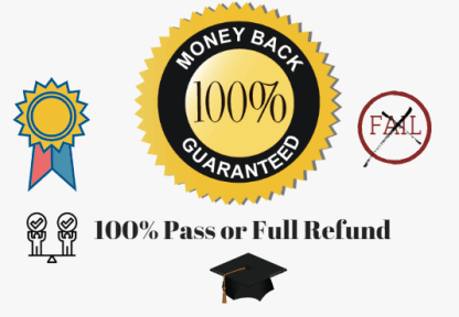 100% pass guarantee
