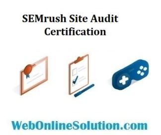 SEMrush Site Audit