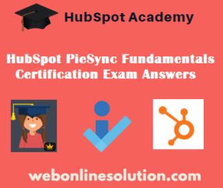 PieSync Fundamentals