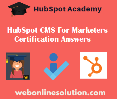 HubSpot CMS For Marketers
