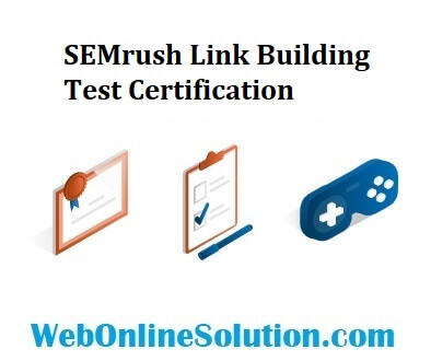 SEMrush Link Building Test