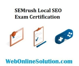 SEMrush Local SEO Exam