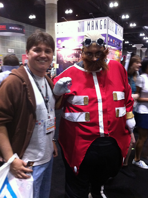 dr. robotnik cosplay