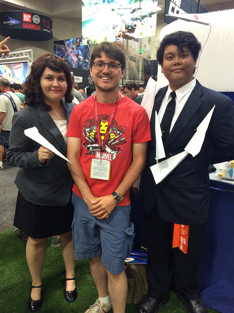 sdcc paperman pixar