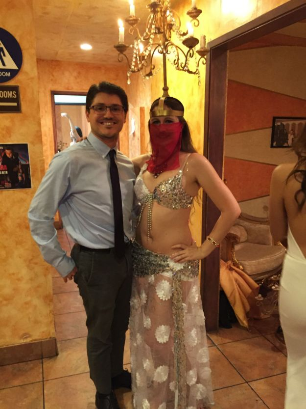Me and Anela at the Bellydance IDOL presents Om Kalthoum Tribute Show
