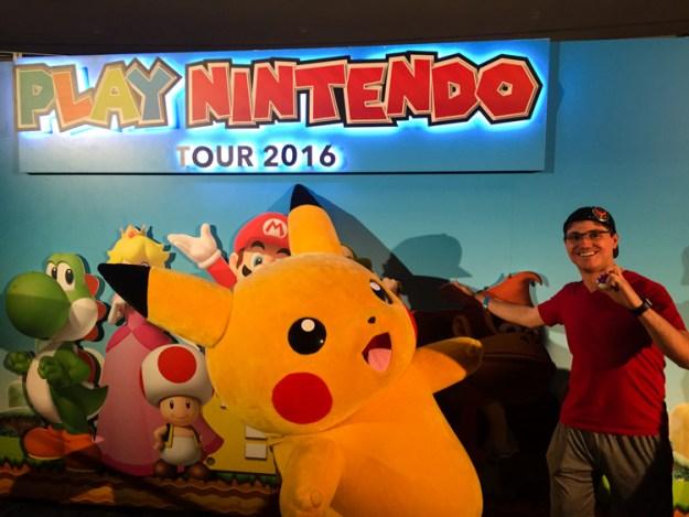 Nintendo Lounge pikachu