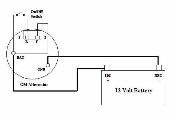 Mopar Alternator Wiring | Avecdd Unix on
