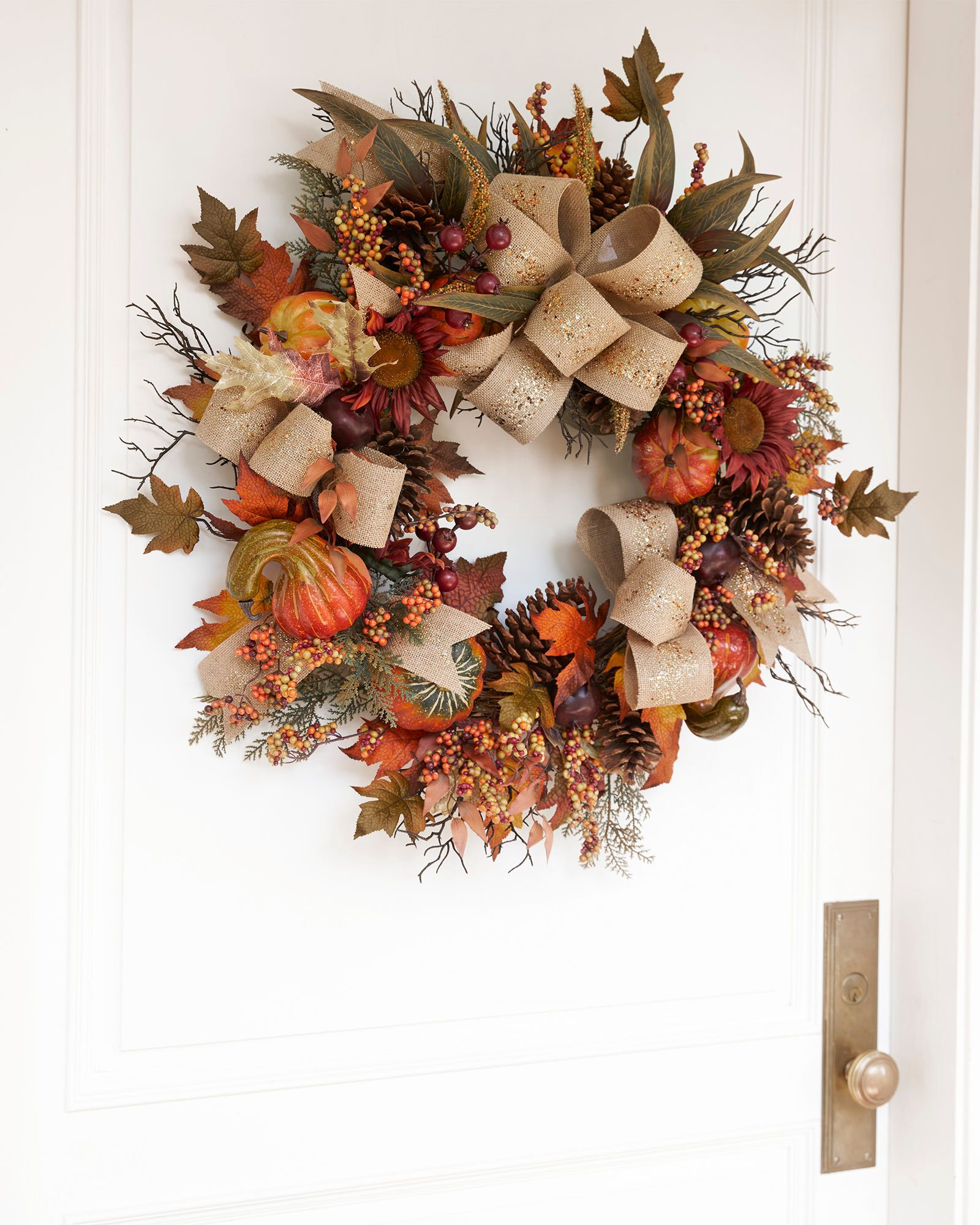 Fall Harvest Wreath Garland And Swag Balsam Hill