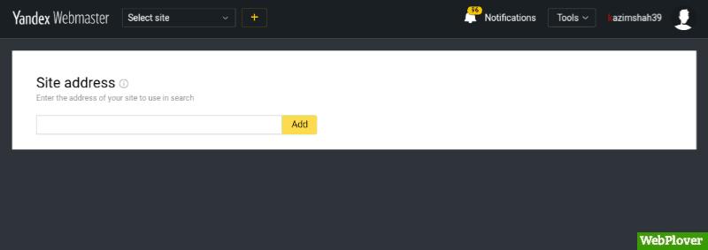 Submit Website To Yandex