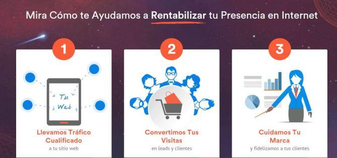 Nueva web agencia SEO Webpositer