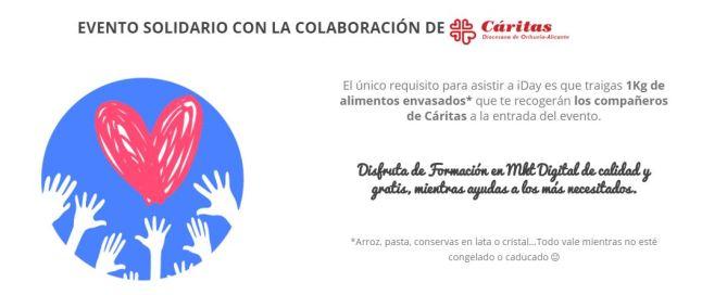 Evento Solidario iDay Alicante