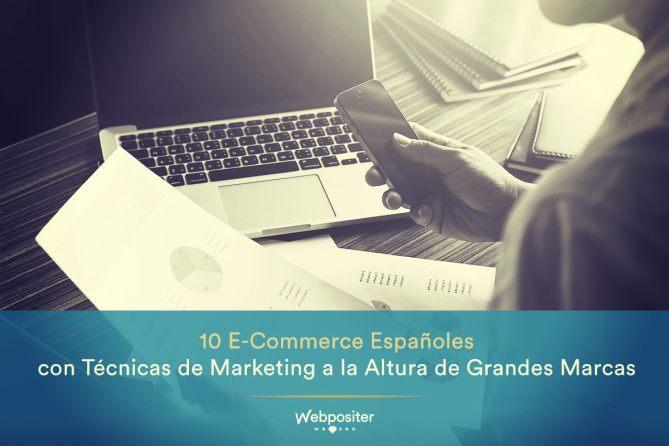 Ejemplo de técnicas de marking online para e-commerce españoles