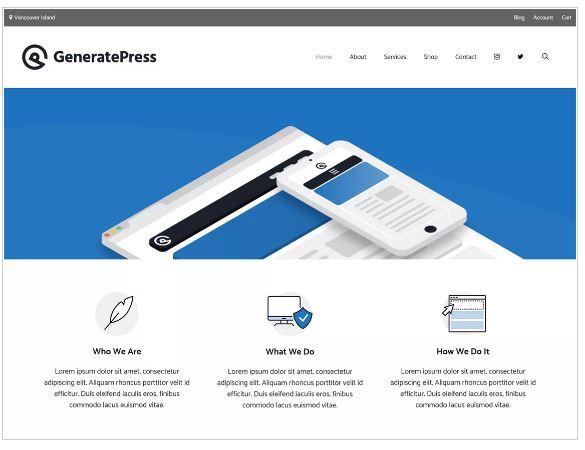 plantilla-wordpress-generatepress
