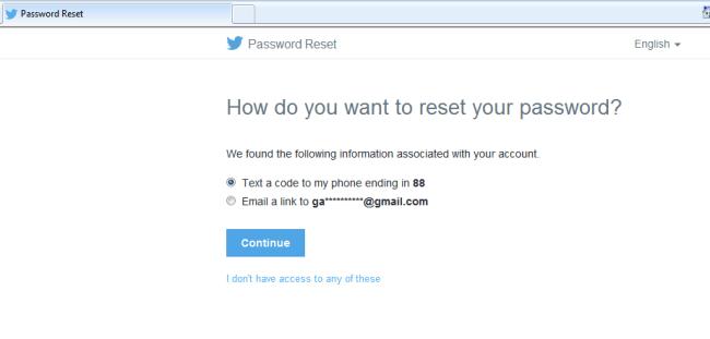 reset twitter password 2