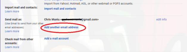 gmail alias