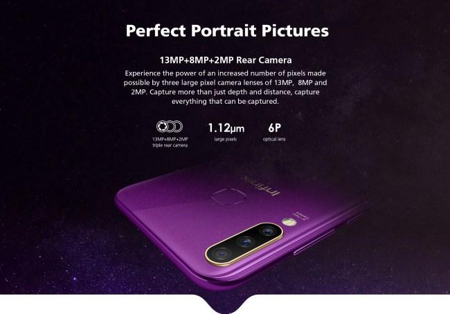 infinix s4 camera
