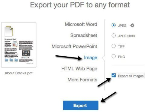 Extract Images From PDF Using Adobe Acrobat