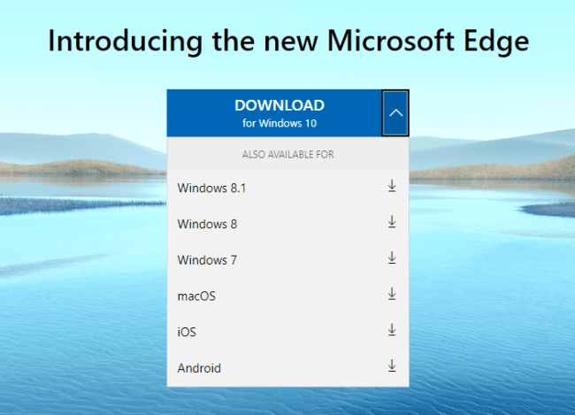 how to install microsoft edge