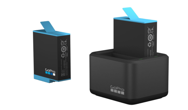 how to charge gopro hero 9 battery
