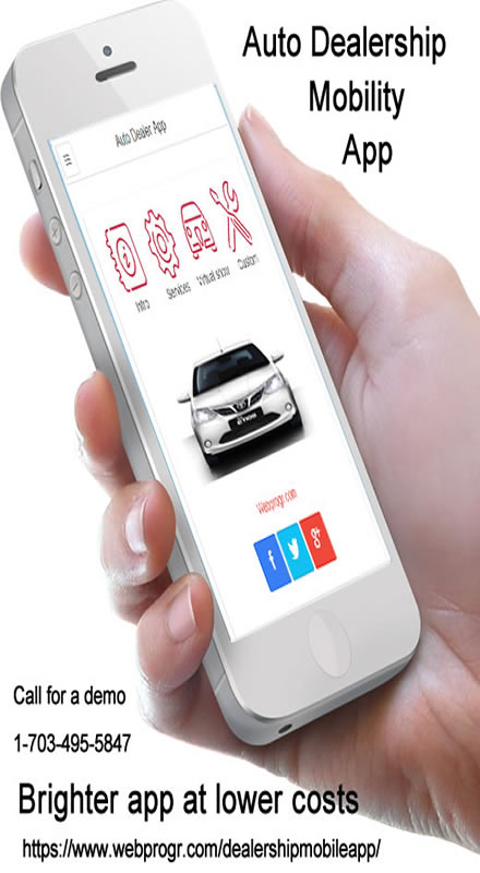 Auto dealer apps small business