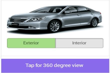 360 view car dealership app
