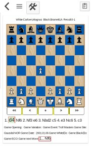 Carlsen Karjakin chess games for Android