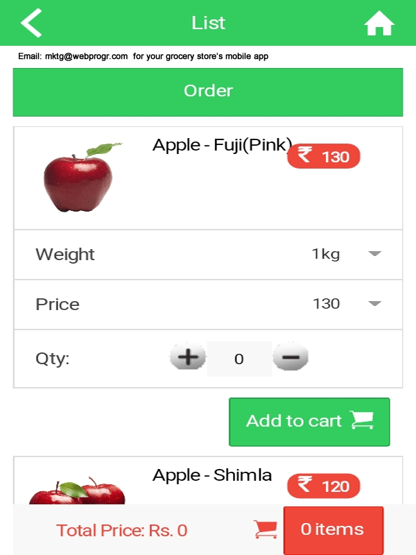 Grocery apps with Indian payment gateways