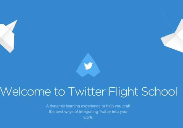 Twitter Opens 'Flight School' To All Marketers
