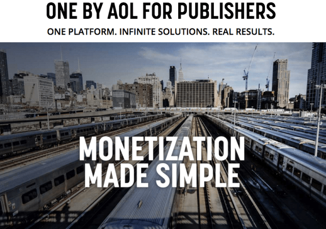 AOL Announces ONE by AOL: Publishers