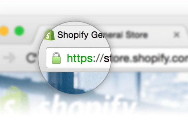 Shopify Makes All Stores Use SSL Encryption