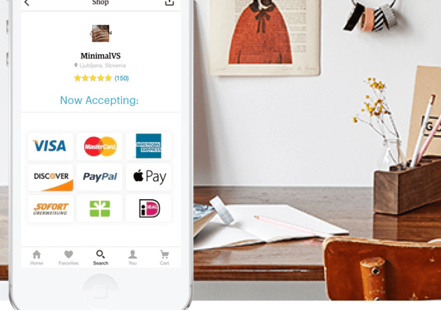 Etsy Adds Express Checkout to iOS App