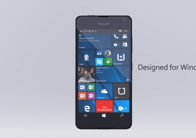 The New Microsoft Lumia 650 is All About Business