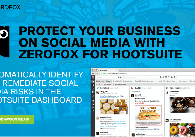 Hootsuite Partners with ZeroFOX to Help You Monitor Social Media Threats