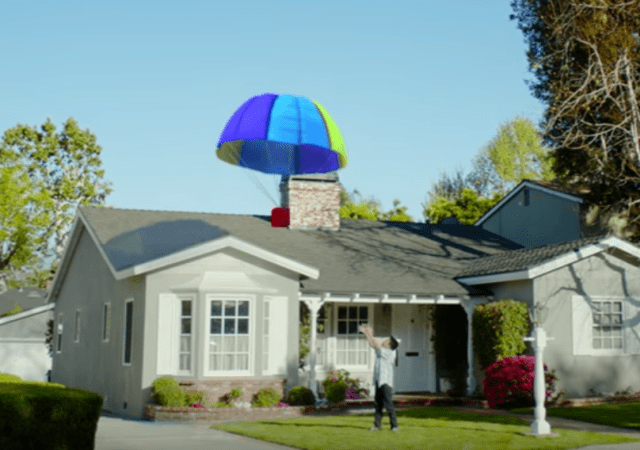 Google Says Drone Technology Isn't Ready, Goes For Parachute Deliveries Instead (For April Fools' Obviously)