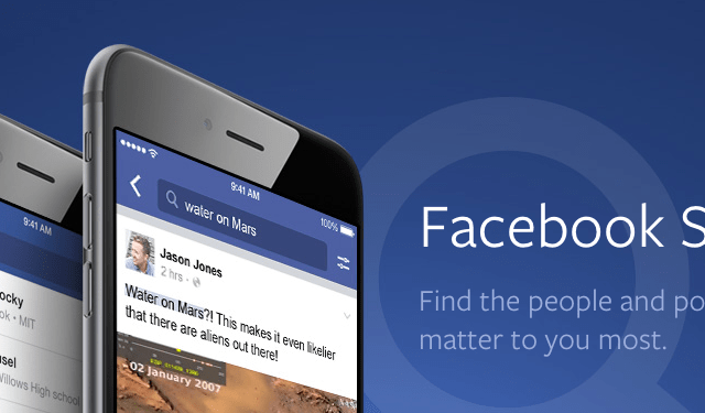Facebook's Future: Video, Search, Messaging and VR