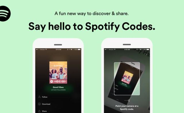 New 'Spotify Codes' Use Social Media for Quick Music Sharing