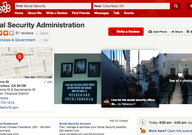 Government Agencies Get Yelp-Friendly