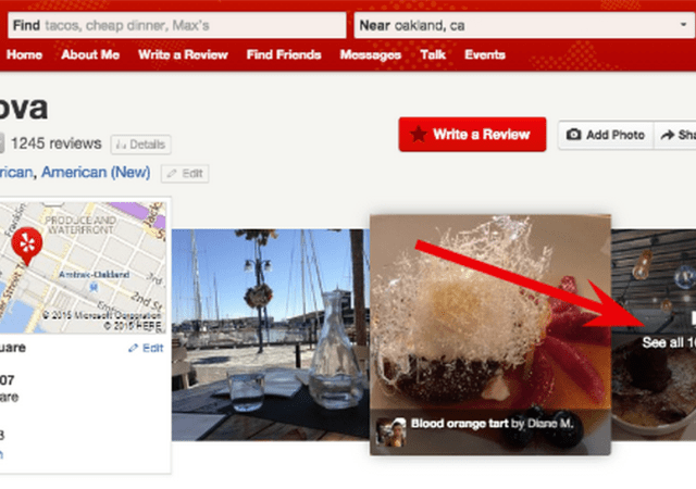Yelp Experiments With Categorized Photo Browsing